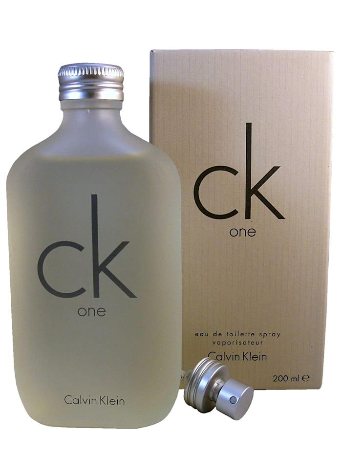 CK One C. Klein, Eau de Toilette Calvin Klein Weiß