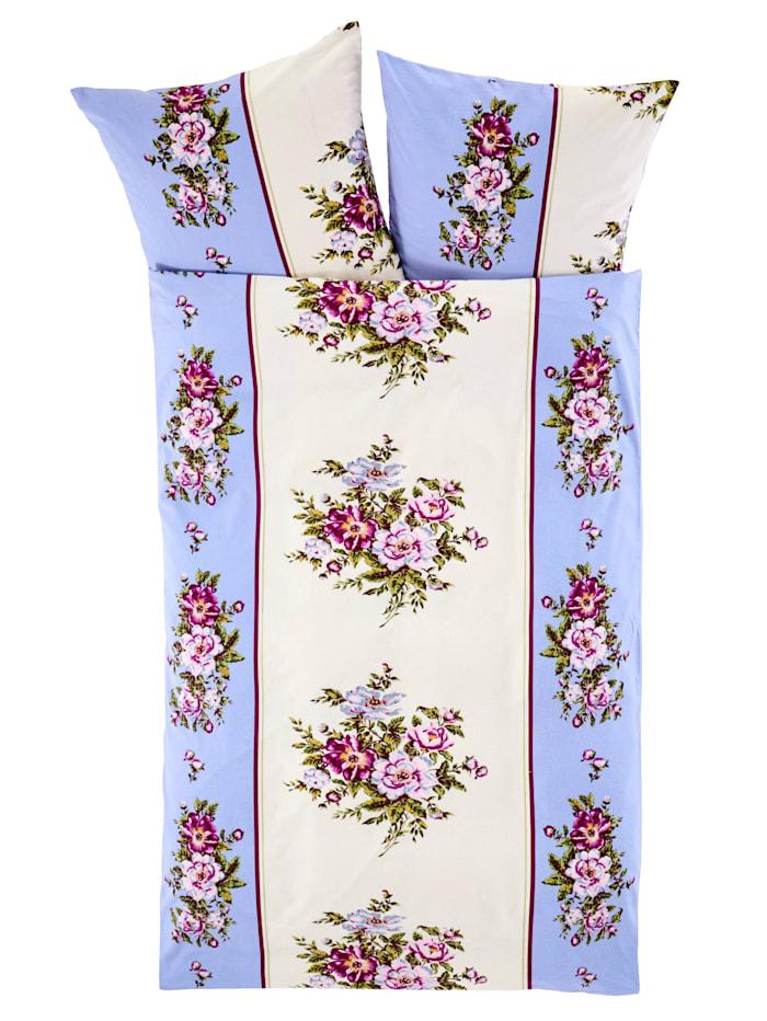 2-delige set bedlinnen Christa Webschatz lichtblauw