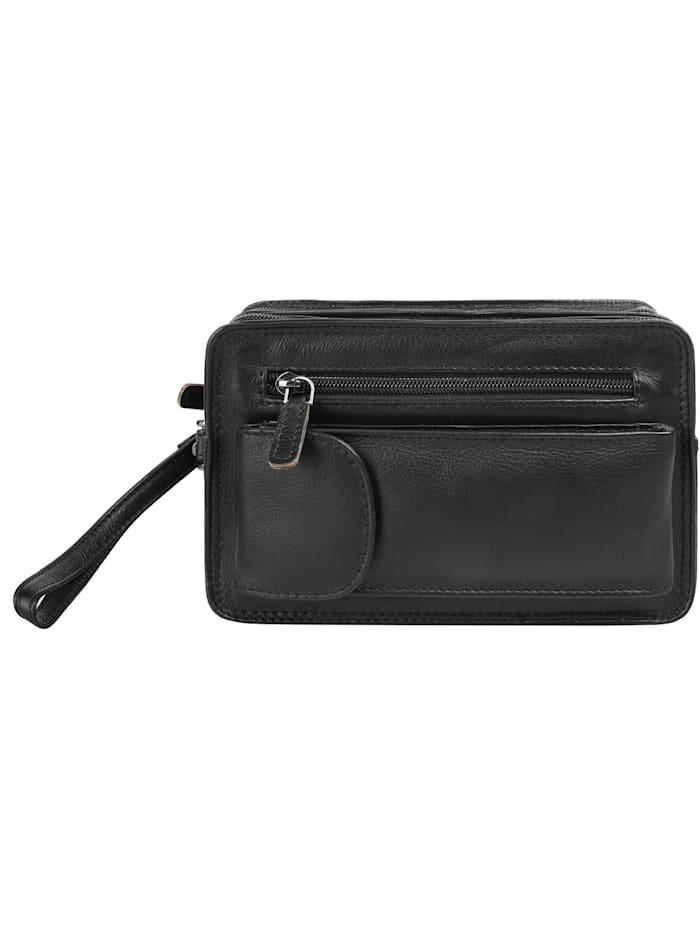 bagan - Handgelenktasche  schwarz
