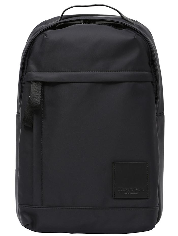 marc o'polo accessoires - Backpack M Mod. Emil  black/blue