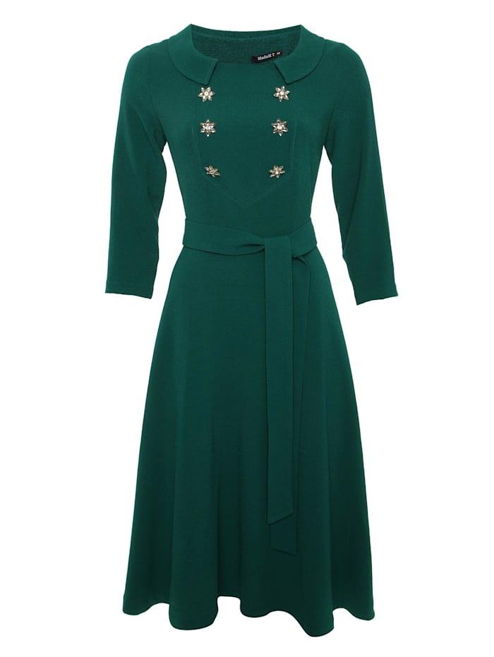 madam-t - Alltagskleid Kleid Vesta  grün