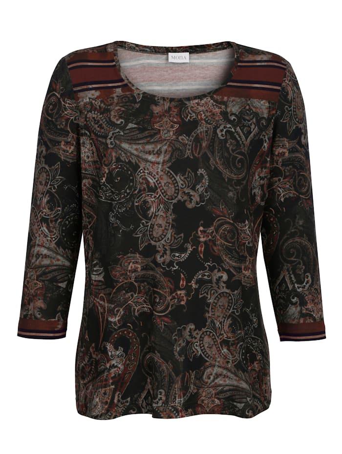 Shirt MONA Kaki::Roest