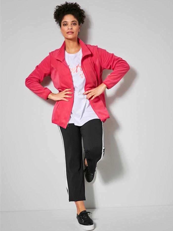 Fleece vest Janet & Joyce Pink