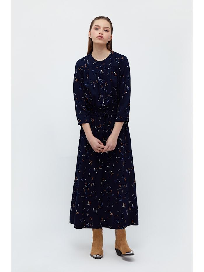 finn flare - Maxi-Kleid mit floralem Muster  dark blue
