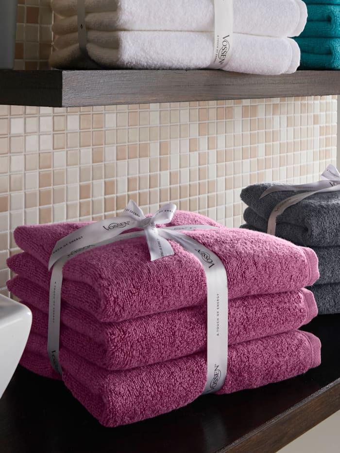 Handdoeken Smart Towel Vossen berry