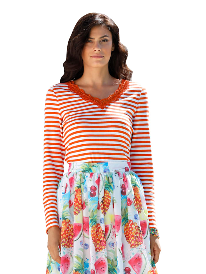 Shirt AMY VERMONT Rood Wit