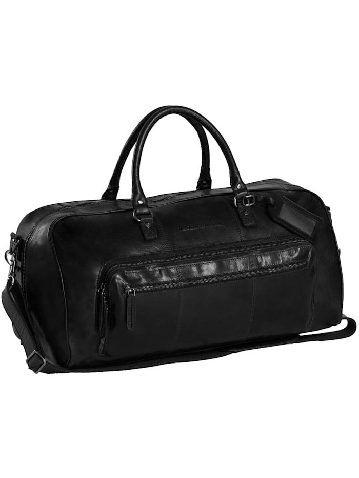 the chesterfield brand - Antique Buff Mainz Weekender Reisetasche Leder 53 cm  black
