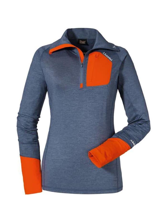 schöffel -  Shirt Longsleeve An  Blau