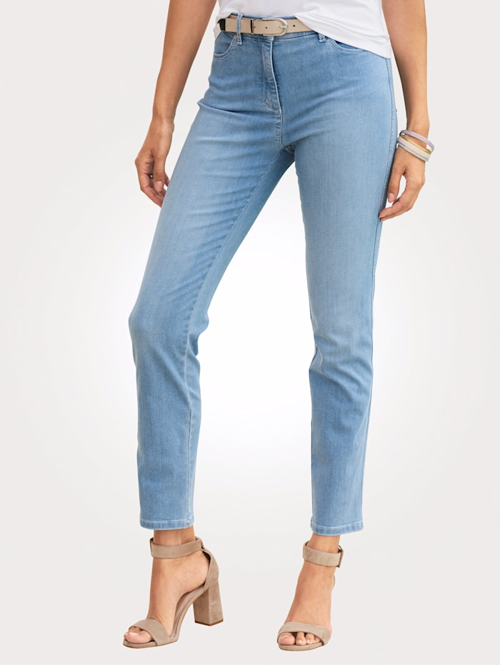 Jeans Toni Lichtblauw