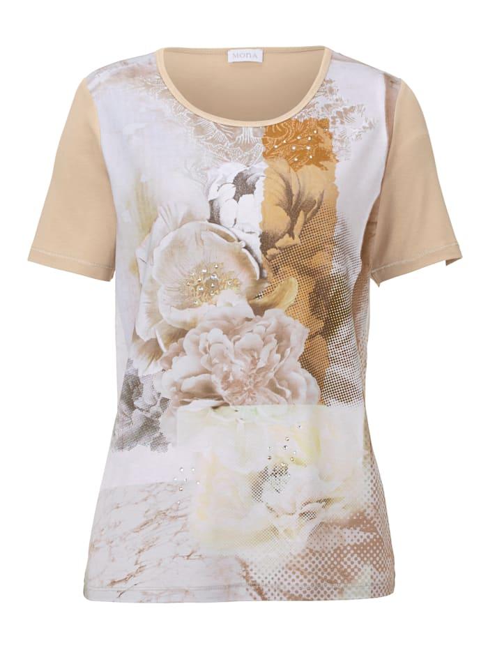 Shirt MONA Taupe::Olijf