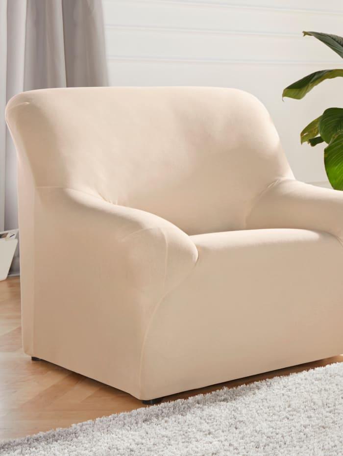 Elastische meubelhoezen Webschatz naturel