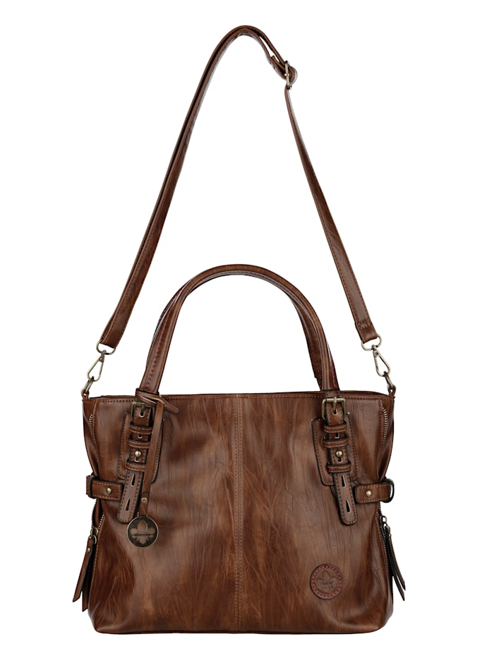 rieker - Shopper  cognac
