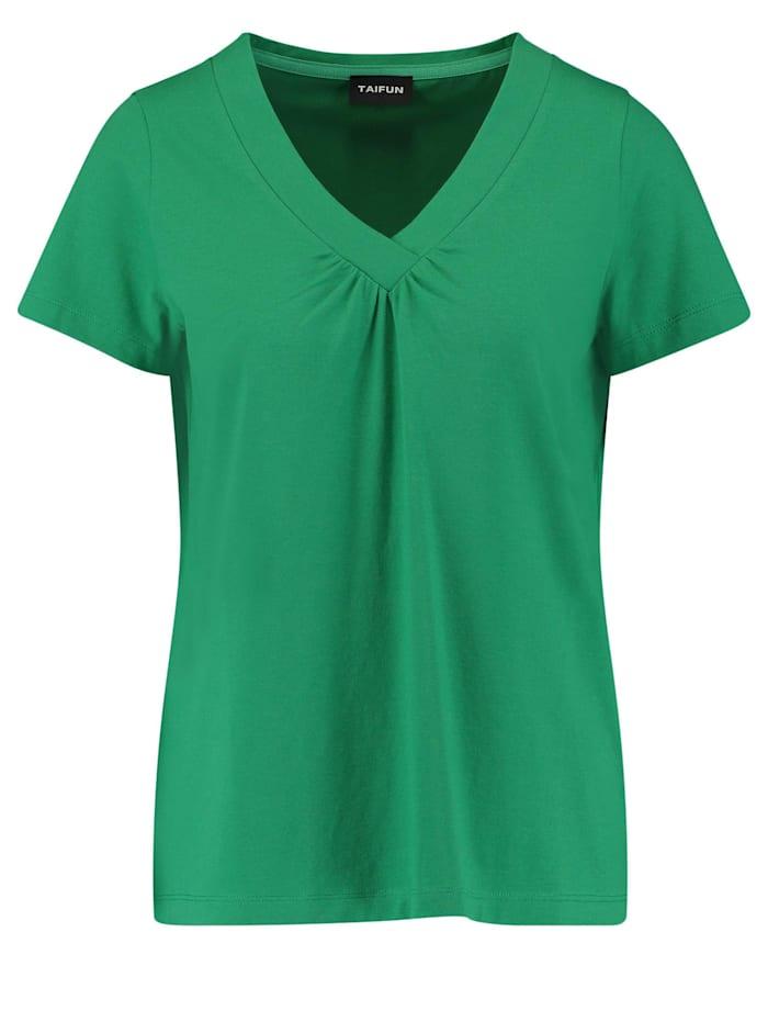 taifun - T-Shirt mit V-Ausschnitt  Simply Green