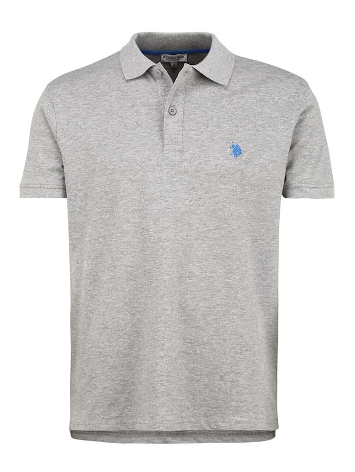 u.s. polo assn. - Polo Shirt Polo  grey melange