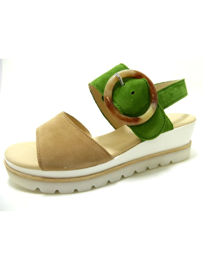 gabor - Sandalen/Sandaletten  grün