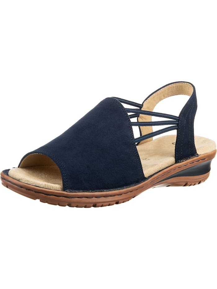 ara - Hawaii Komfort-Sandalen  blau