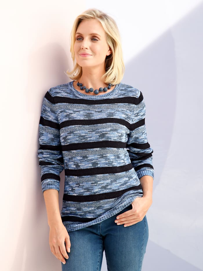 Pullover Paola Marineblau Blau Hellblau