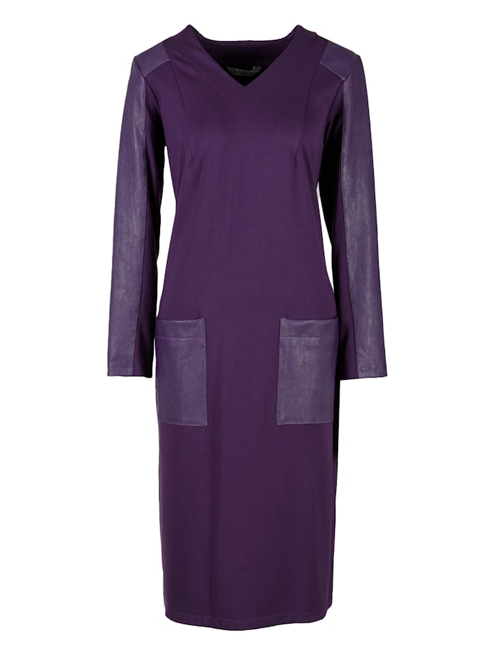 helmidge - A-Linien-Kleid Dress  lila