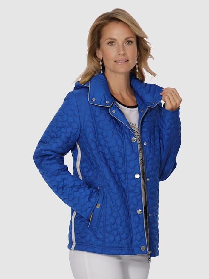 Gewatteerde jas MONA Royal blue
