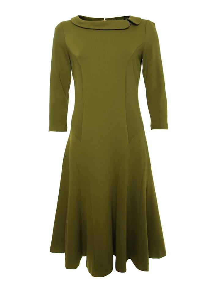 madam-t - Jerseykleid Kleid Kreola  khakifarben
