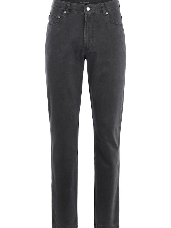 brühl - Regular Fit-Jeans Genua III mit bequemem Komfortbund  grau