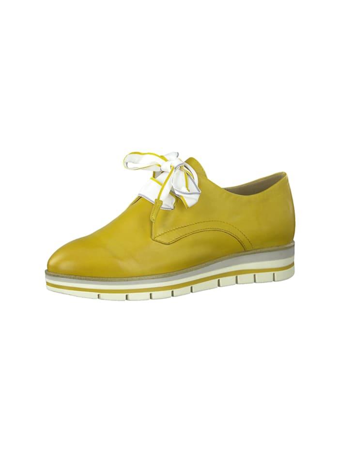 marco tozzi - Schnürschuhe  gelb