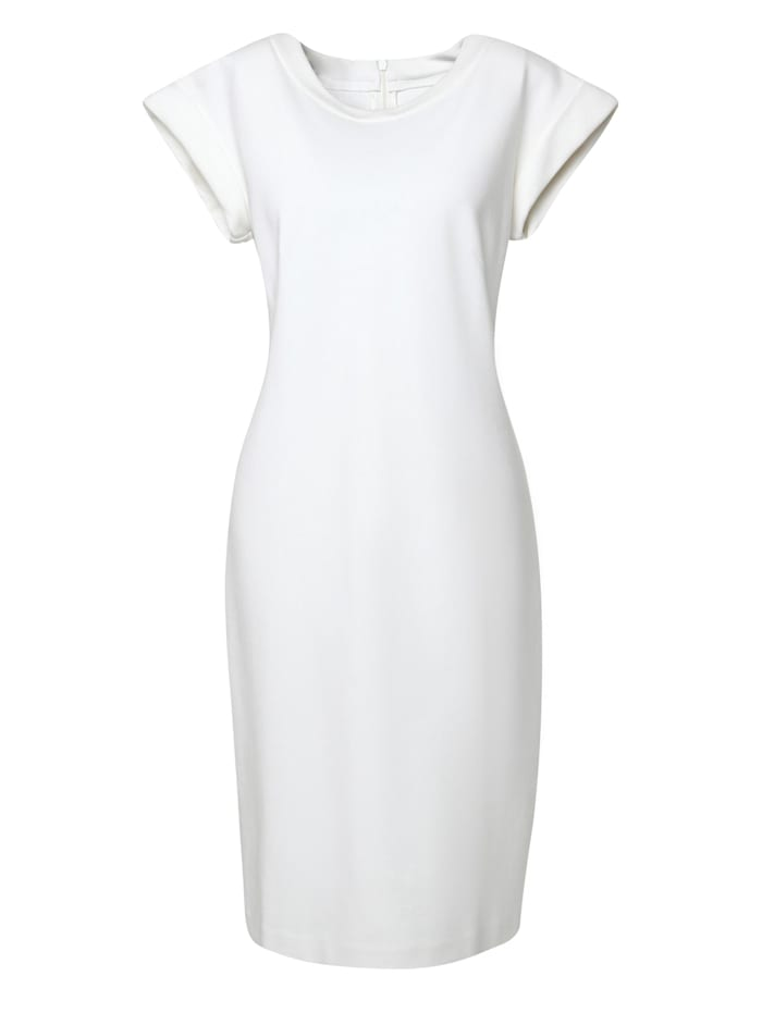 madam-t - Etuikleid Kleid Froma  weiß