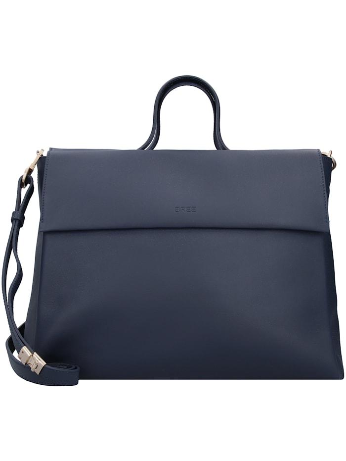 bree - Pure 8 Handtasche Leder 38 cm  frenchnavy
