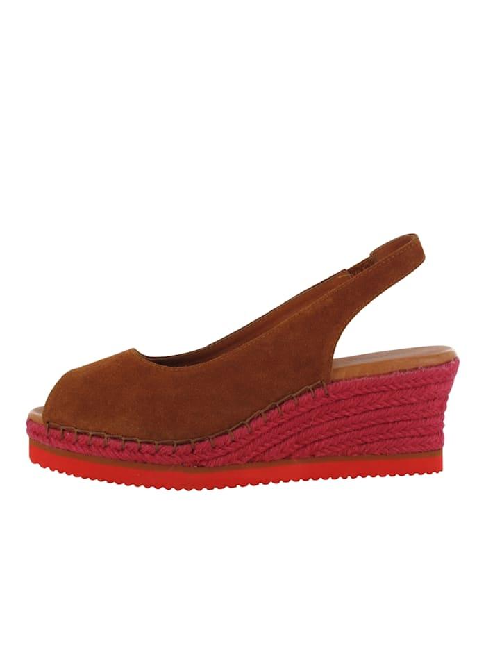 flip flop - Keilsandale Oasis  braun