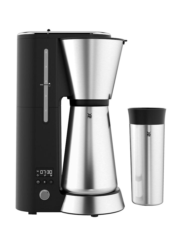 Koffiezetapparaat metthermoskan WMF zilverkleur/zwart