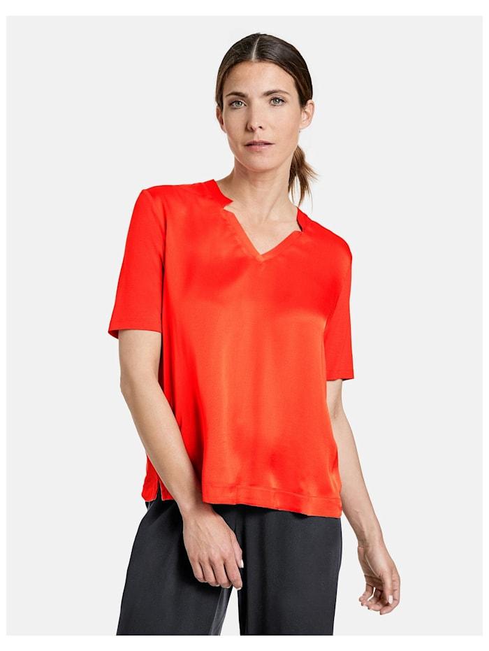 gerry weber - Shirt mit V-Ausschnitt EcoVero  Sundown