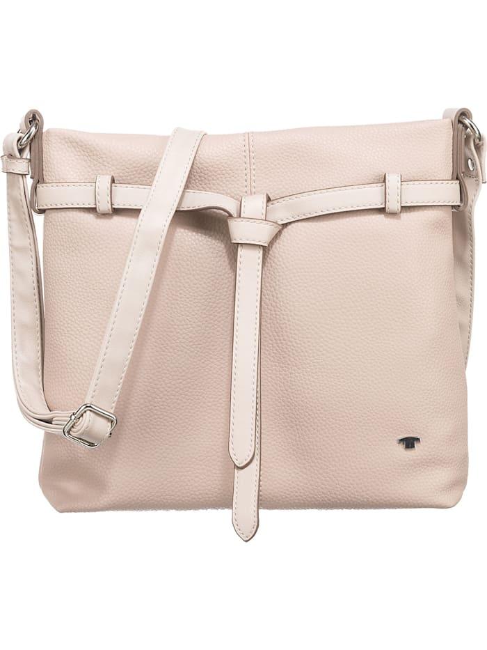 tom tailor - Lina Cross Bag, Cross Bag M Grey Umhängetasche  beige