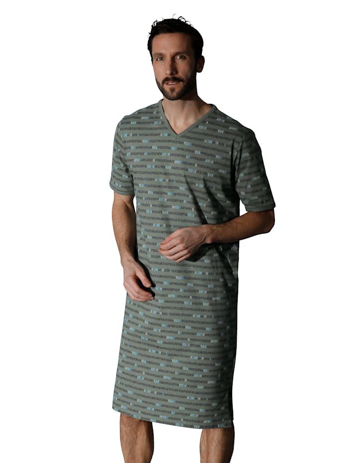Nachthemd Ringella Olijf