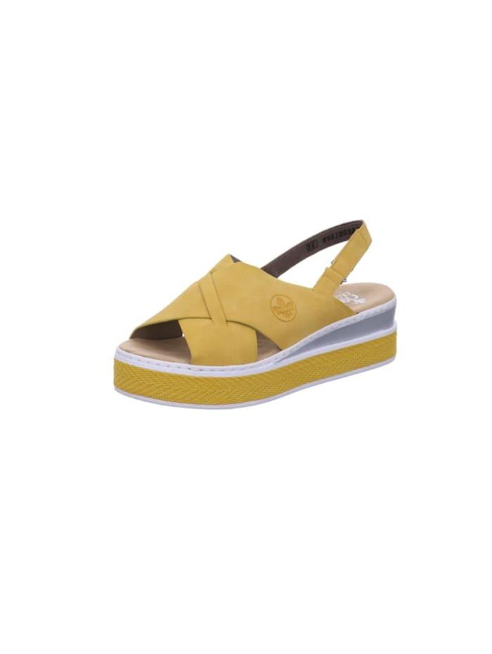 rieker - Sandale Sandale  gelb