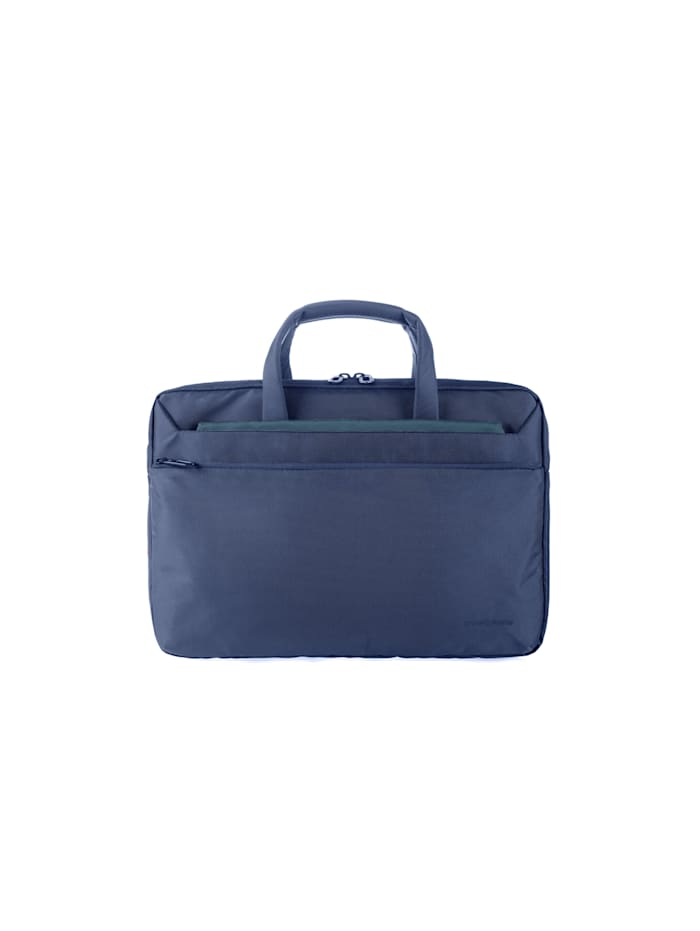 tucano - Aktentasche Laptop business slim bag13inch  blue