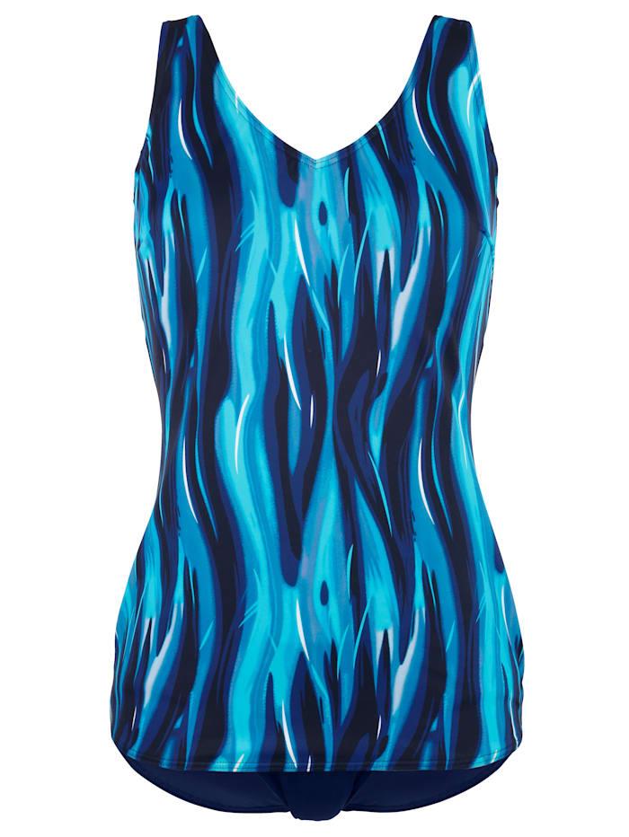 Badpak Maritim Blauw::Turquoise