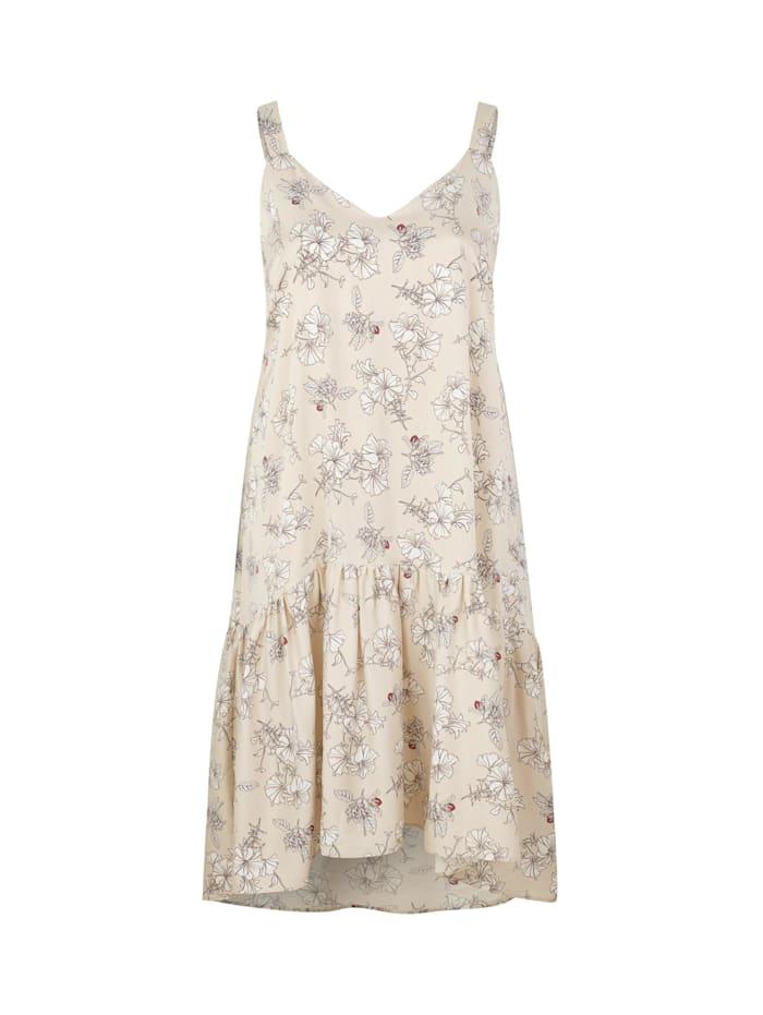 inan isik - Seidenkleid Susan Dress  beige