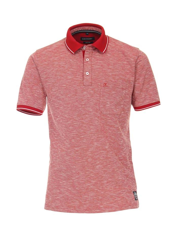 casamoda - Polo-Shirt uni  Hellrot