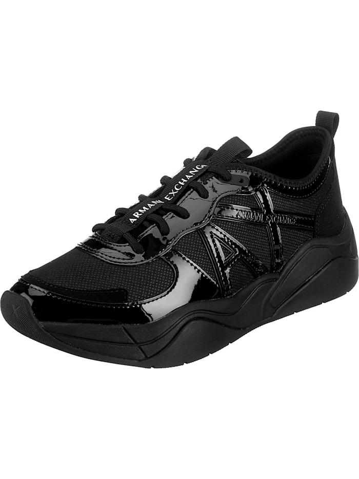 armani exchange - Chunky Sneakers  schwarz