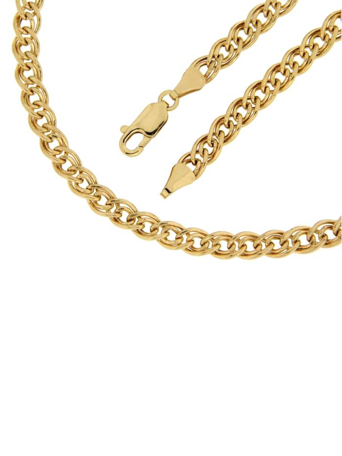 Bracelet à maille chenille double Grazielli Coloris or jaune