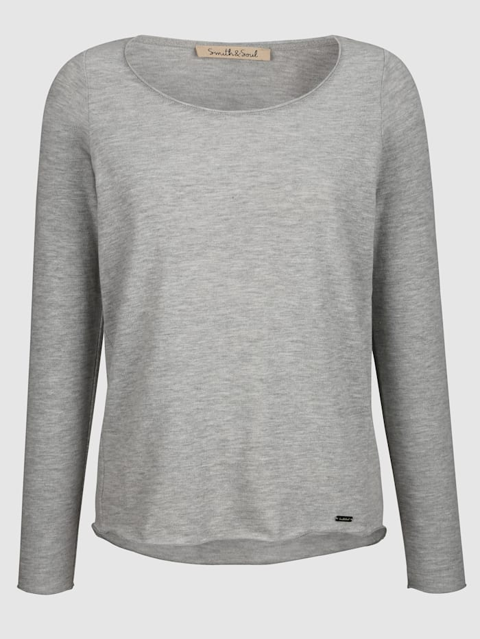 Pull-over Smith & Soul Gris