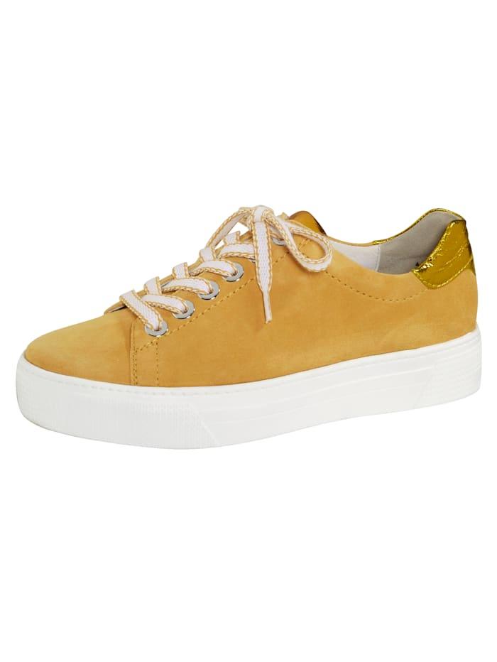 semler - Schnürschuh  Gelb