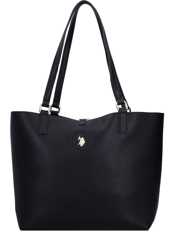 u.s. polo assn. - Rogersville Shopper Tasche mit Wendefunktion 28 cm  black