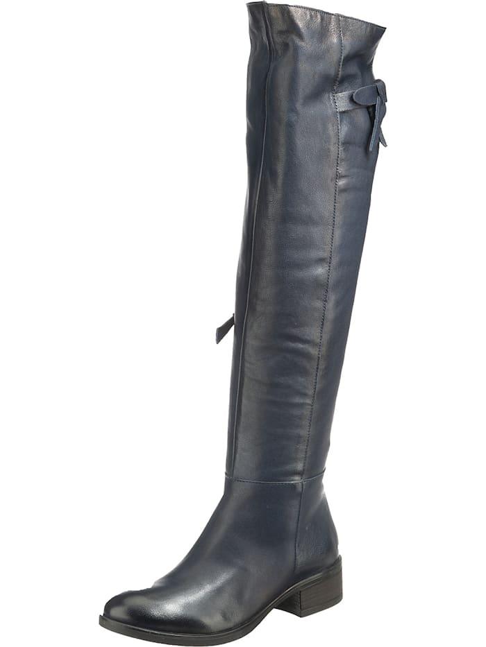jolana & fenena - Overknee-Stiefel  dunkelblau