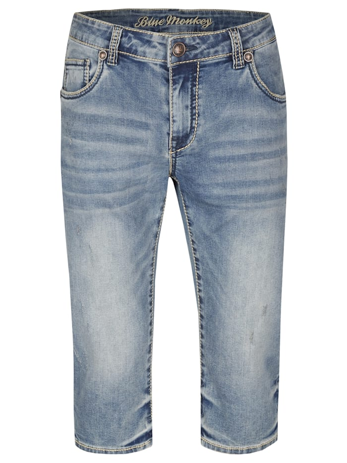 blue monkey - 3/4 Jeans Freddy  Blau