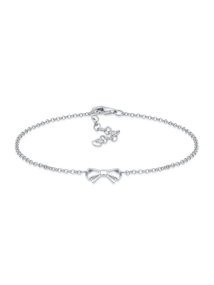 elli - Armband Schleife 925 Sterling Silber  Silber
