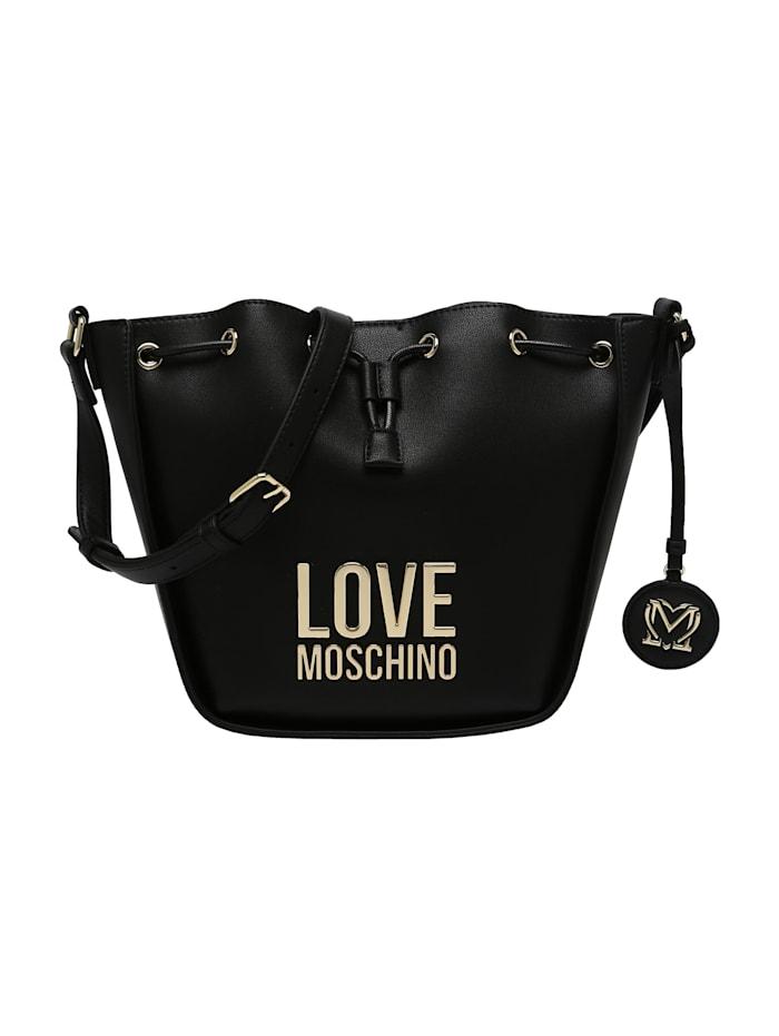 love moschino - Beuteltasche mit Magnetverschluss  schwarz