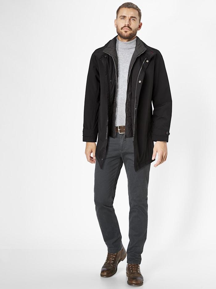 s4 - klassische Winterjacke Toronto  black