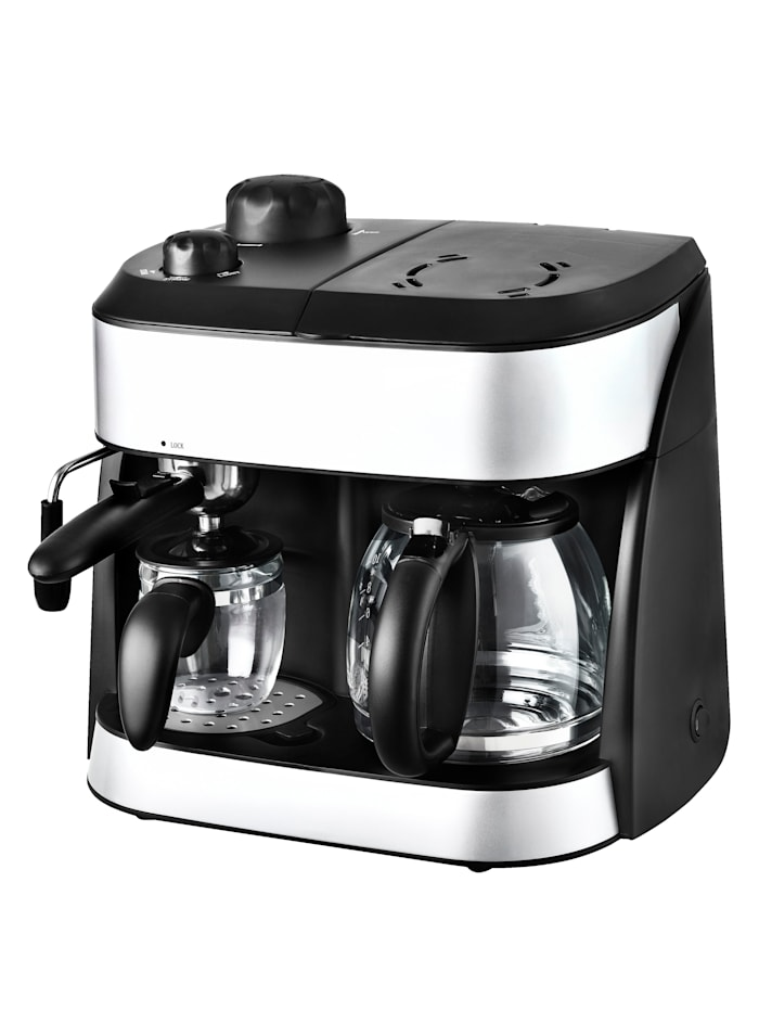 Kaffee- Espresso- Automat 2 IN 1 TKG EXP 1001 Kalorik schwarz
