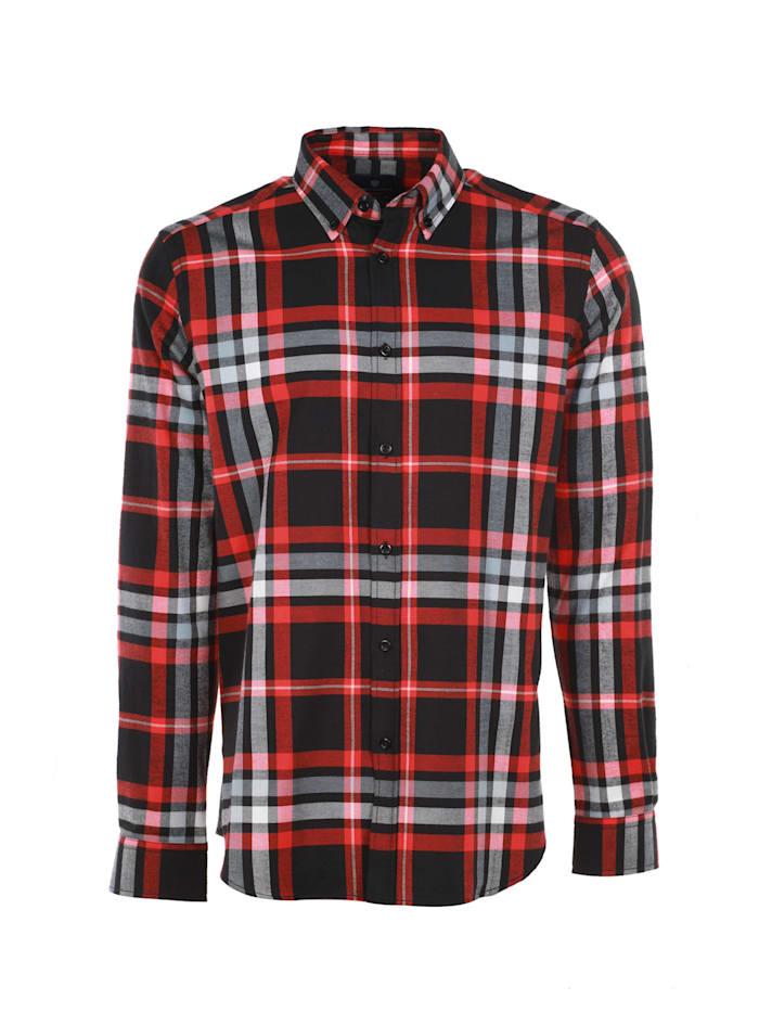 jimmy sanders - Hemd Geoff mit Karo-Muster  red